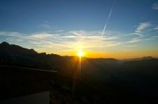 Sonnenuntergang am Hochkalter © Gipfelfieber.com