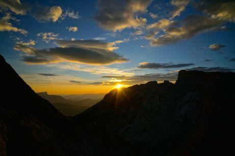 Sonnenaufgang über dem Steinberg © Gipfelfieber.com