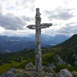 Gipfelkreuz der Hörndlwand © Gipfelfieber.com
