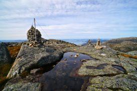 Der Gipfel des Neverdalsfjellet © Gipfelfieber.com