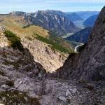Blick zurück in die Scharte © Gipfelfieber.com