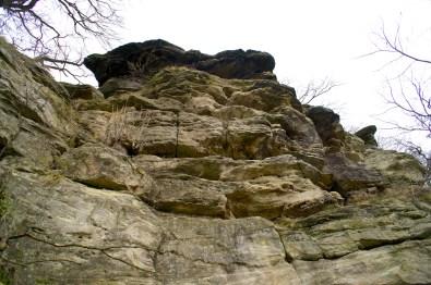 Der höchste Punkt der Rabenschüssel von unten © Gipfelfieber.com