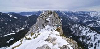 Roß- und Buchstein im Winter - Fast schon alpin © Gipfelfieber.com