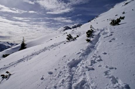 Abstieg vom Großen Weitschartenkopf © Gipfelfieber.com