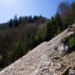 Die Schuttrinne wird gequert © Gipfelfieber.com