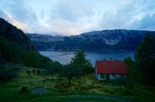 Morgendlicher Blick auf den Lysefjord in Flørli © Gipfelfieber.com