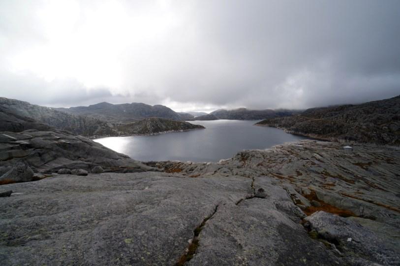 Der See, der das Kraftwerk speist © Gipfelfieber.com