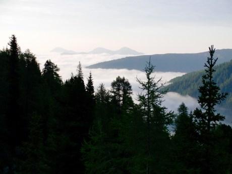 Hochnebel im Tal © Gipfelfieber.com
