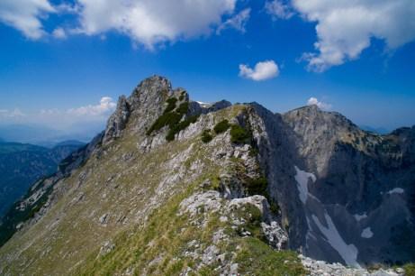 Blick zurück zur Pyramidenspitze © Gipfelfieber.com