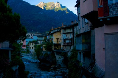 Alpenglühen in Chiavenna © Gipfelfieber.com