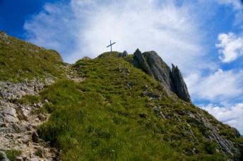 Gipfelkreuz vom Brandnerschrofen © Gipfelfieber.com