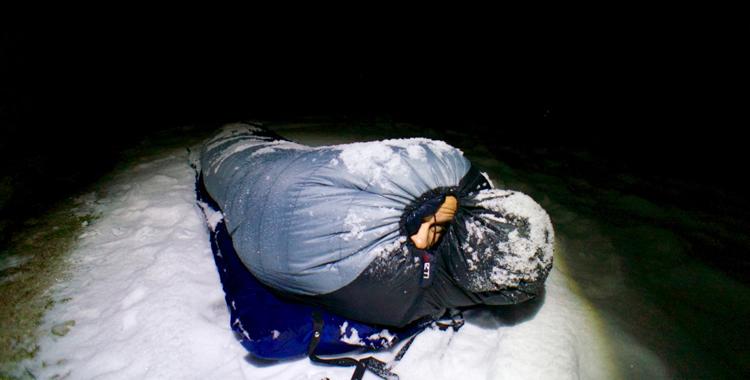 big sale 8f828 7761b Fünf Schlafsäcke für den Winter im Praxistest