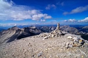 August: Gipfel der Westlichen Ödkarspitze im Karwendel ©Gipfelfieber