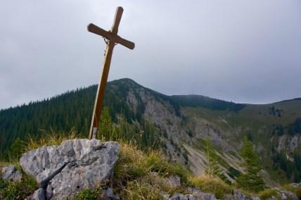 Windschiefes Gipfelkreuz ©Gipfelfieber