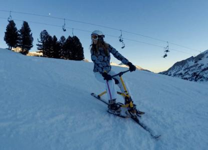 Snowbiken - Auf die Piste, fertig, Spaß! ©Gipfelfieber