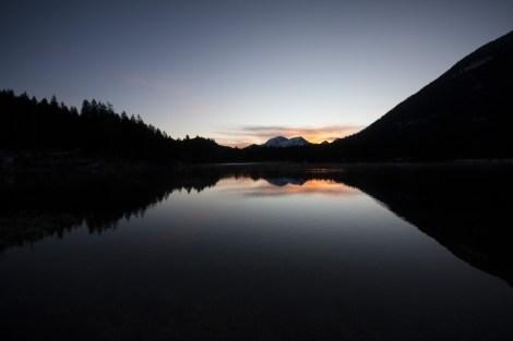 Sonnenaufgang am Hintersee ©gipfelfieber.com