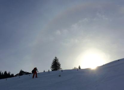 Peitingköpfl: Im Schneeloch der Chiemgauer ©Gipfelfieber