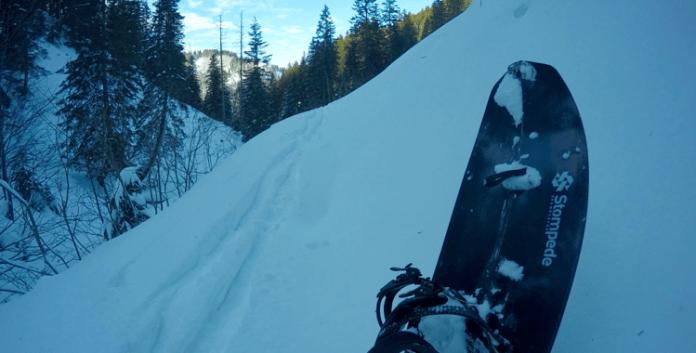 Im Test: Stompede Snowboards Dawn Patrol Carbon Splitboard ©Gipfelfieber