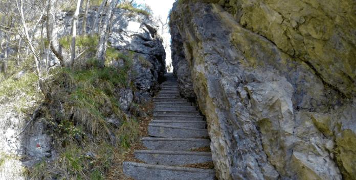 Der Künstlersteig – Klettersteig für Kunstliebhaber