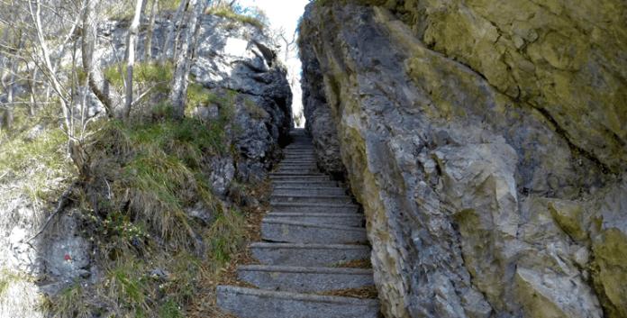 Art Pinistico delle Niere – Der Klettersteig für Kunstliebhaber ©Gipfelfieber