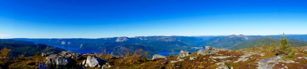 Panorama am Gipfel ©Gipfelfieber