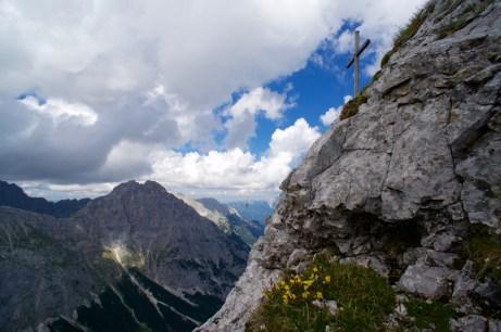 Das Gipfelkreuz der Gehrenspitze ©Gipfelfieber