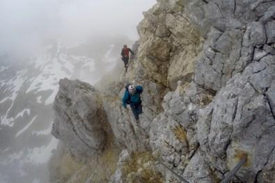 Seilbrücke im Klettersteig ©Gipfelfieber