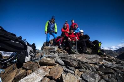 Auf dem Gipfel des Taschachhochjoch ©Gipfelfieber