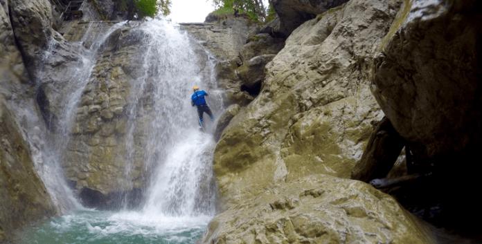 Canyoning in der Kobelache: Alles geht den Bach runter ©Gipfelfieber
