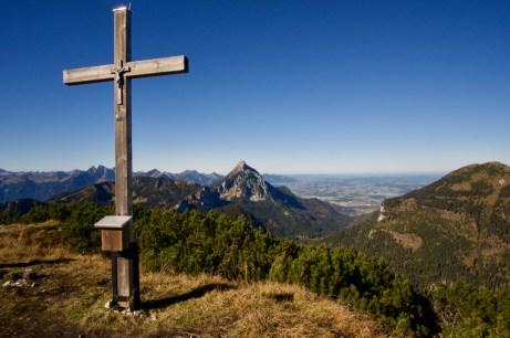 Gipfelkreuz vom Ochsenälpelekopf ©Gipfelfieber