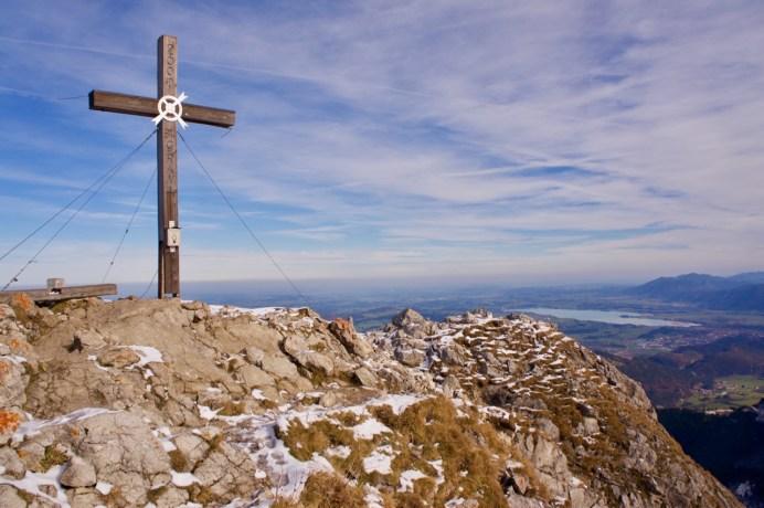 Gipfelkreuz des Aggenstein ©Gipfelfieber