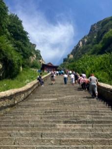 Treppe auf den Tai`Shan ©Gipfelfieber ©Gipfelfieber
