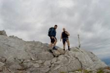 Bei der Kletterei auf die Watzmannfrau ©Gipfelfieber