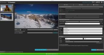 Geschwindigkeitsanpassung und Metadaten ©Screenshot Liquivid