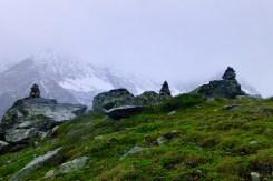 Steinmandl und Grün ©Gipfelfieber