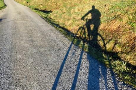 Abfahrt auf dem Mountainbike ©Gipfelfieber