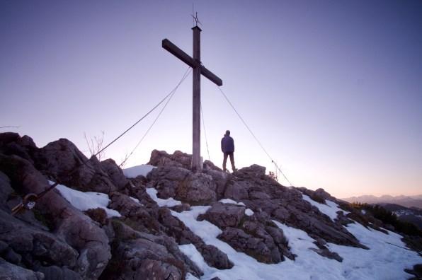 Gipfelkreuz Spitzstein ©Gipfelfieber