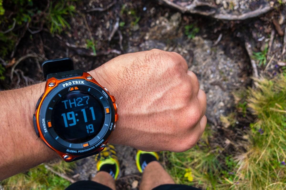 Smartwatch für draußen im Test: Die Casio Pro Trek WSD-F20