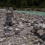 Steinmandl an der Isar ©Gipfelfieber