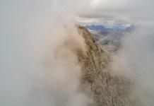 Verhüllter Gipfel der Schönfeldspitze ©Gipfelfieber