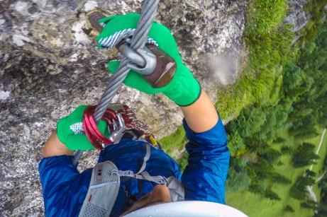 Im Klettersteig ©Gipfelfieber