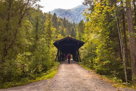 Über eine Brücke ©Gipfelfieber