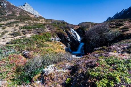 Vorbei an Wasserfällen ©Gipfelfieber