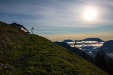 Schönfeldalmen und Kaisergebirge