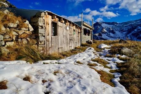 Winterraum der Gießener Hütte ©Gipfelfieber
