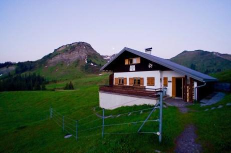 Reuttener Hütte und Abendspitze ©Gipfelfieber
