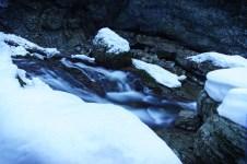 Eingefrorenes Wasserrauschen ©Gipfelfieber