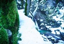 Wasserfälle im Priental: Winterwanderung zum Talgraben-Wasserfall ©Gipfelfieber
