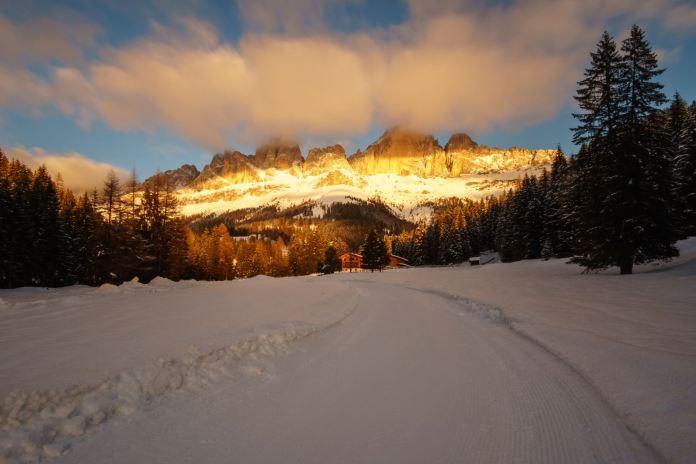 Tourengehen am Rosengarten: Fünf Skitouren für Genießer
