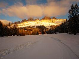 Tourengehen am Rosengarten: Fünf Skitouren für Genießer ©Gipfelfieber